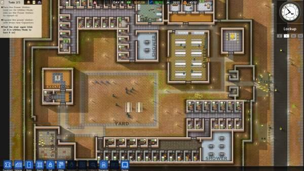 Prison Architect 600x338 - Top game cho bạn thể hiện tài năng kinh doanh cực đỉnh