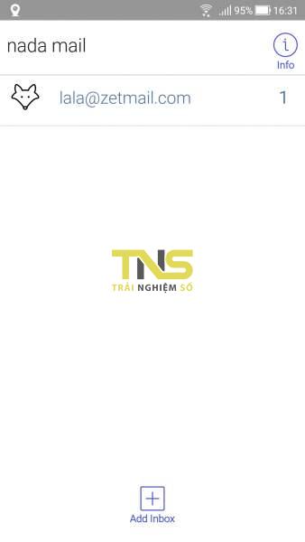 Screenshot 20191004 163144 338x600 - Tạo email ảo, hãy chọn nada Temp Mail
