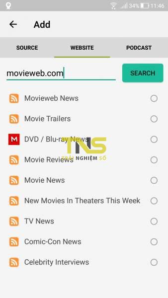 Screenshot 20191006 114613 338x600 - Read - Simple RSS Reader: Ứng dụng đọc tin RSS thân thiện và dễ dùng