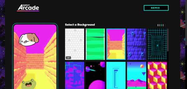 Snag f796f9f 600x286 - GIPHY Arcade: Tạo game miễn phí bằng ảnh động GIF