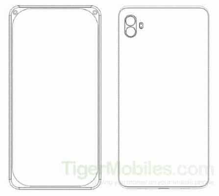 Xiaomi smarpthone patent with dual front facing cameras 2 - Xiaomi được cấp bằng sáng chế cho 4 điện thoại độc đáo