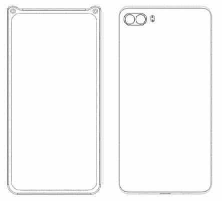 Xiaomi smarpthone patent with dual front facing cameras 3 - Xiaomi được cấp bằng sáng chế cho 4 điện thoại độc đáo