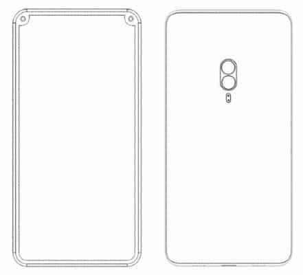 Xiaomi smarpthone patent with dual front facing cameras 4 - Xiaomi được cấp bằng sáng chế cho 4 điện thoại độc đáo