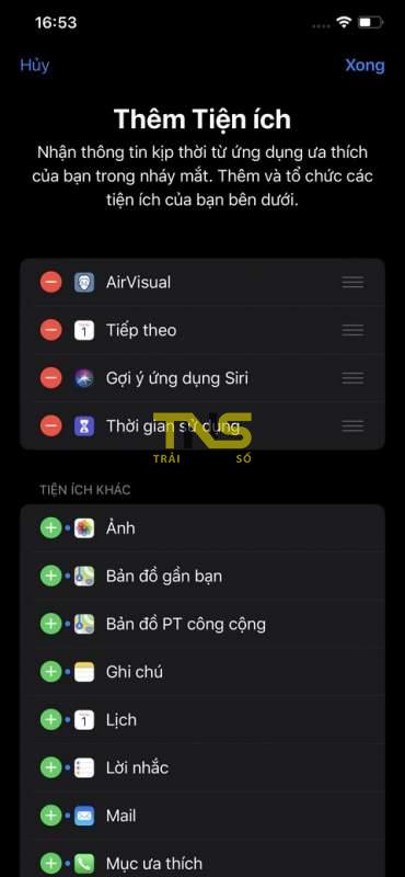 airvisual widget 4 370x800 - Cách xem chỉ số ô nhiễm không khí ngay trên widget iPhone
