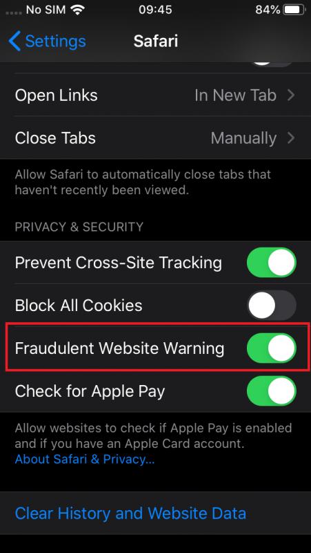 apple sending iphone browsing data to a chinese company 527804 2 451x800 - Apple gửi dữ liệu Safari về Trung Quốc, đây là cách tắt
