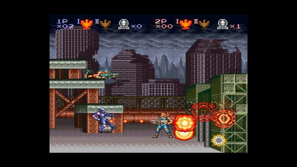 contra anniversary collection screenshot 2 600x338 - Đánh giá game Contra Anniversary Collection