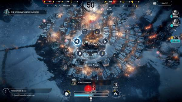 frostpunk console edition ps4 screenshot 2 600x338 - Đánh giá game Frostpunk: Console Edition