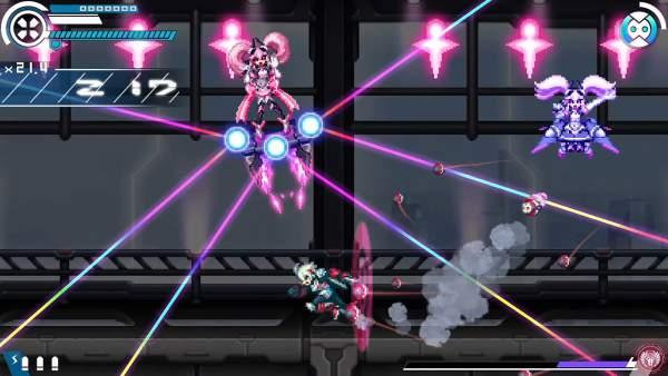 gunvolt chronicles luminous avenger ix switch screenshot 2 600x338 - Đánh giá game Gunvolt Chronicles: Luminous Avenger iX