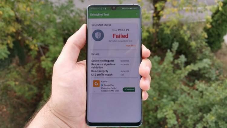 huawei p30 pro safetynet featured 750x422 - Outlook trên Android được hỗ trợ cho đồng hồ thông minh Samsung