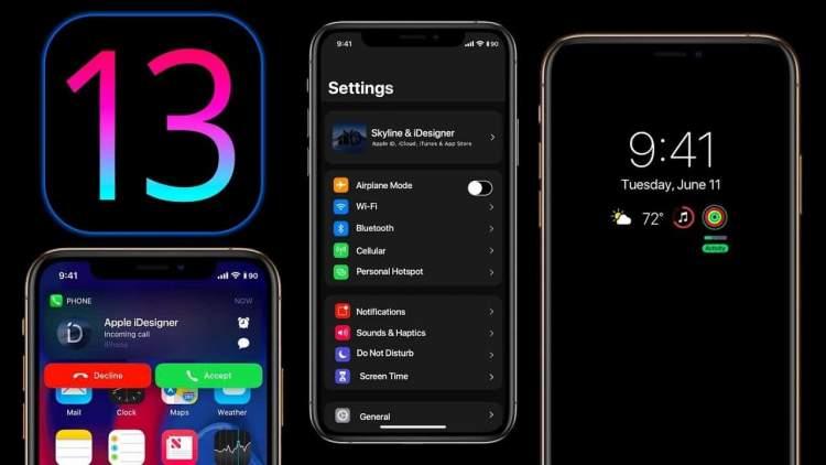 iphone ios 13 featured 750x422 - Outlook trên Android được hỗ trợ cho đồng hồ thông minh Samsung