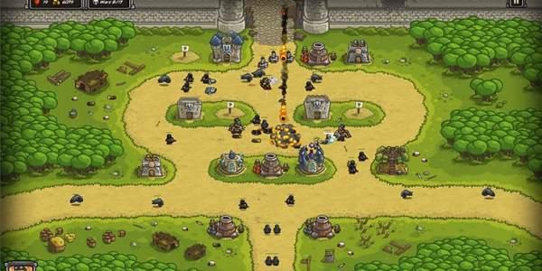 kingdom rush 600x300 - Thử tài xây dựng cùng những tựa game thuộc thể loại Tower Defense sau đây