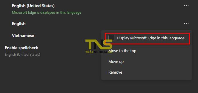 microsoft edge vietnam language 3 - Cách chuyển Microsoft Edge Chromium sang tiếng Việt
