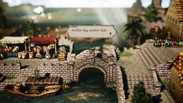 octopath traveler screenshot 1 600x338 - Đánh giá game OCTOPATH TRAVELER