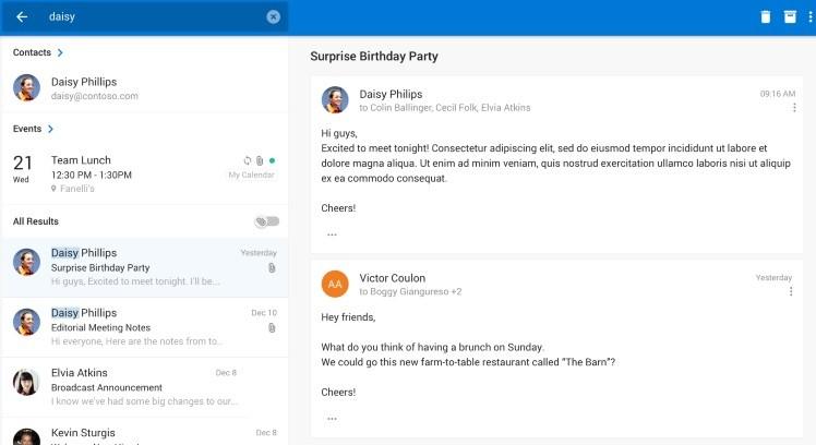 outlook android - Outlook trên Android được hỗ trợ cho đồng hồ thông minh Samsung