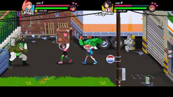 river city girls switch screenshot 1 600x338 - Đánh giá game River City Girls