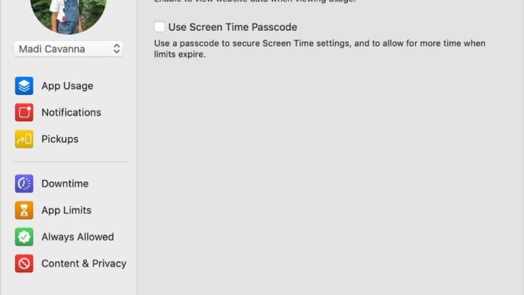 screen time macos catalina 750x422 - Theo dõi chu kỳ kinh nguyệt của bạn trên iOS 13