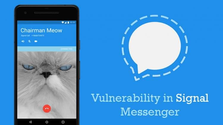 signal messenger vulnerability featured 750x422 - Outlook trên Android được hỗ trợ cho đồng hồ thông minh Samsung