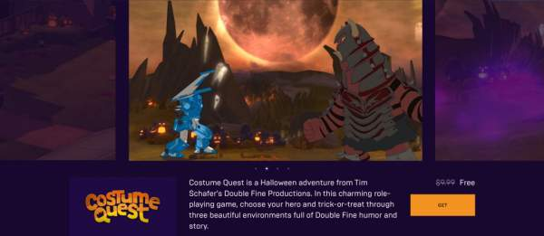 soma costume quest free epic games store 1 600x261 - Đang miễn phí 2 game SOMA và Costume Quest khá hay