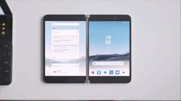 surface duo 4 600x337 - Surface Duo: Điện thoại Android màn hình kép