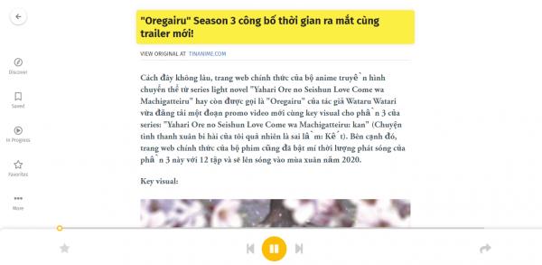 Đọc báo giùm bạn với tiếng Việt trên máy tính và điện thoại 8