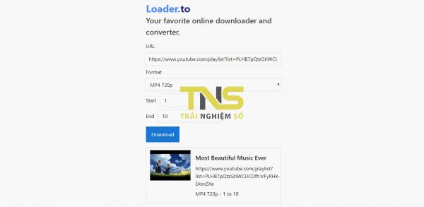 2019 11 12 16 20 28 600x293 - Tải playlist YouTube với ba dịch vụ miễn phí