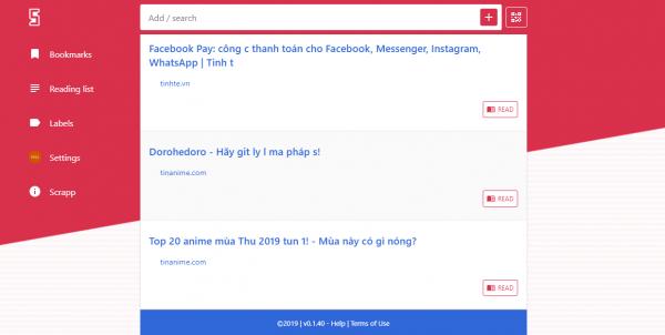Cách lưu trang web trên Google Chrome để xem offline sau bằng Scrapp Bookmarks 4