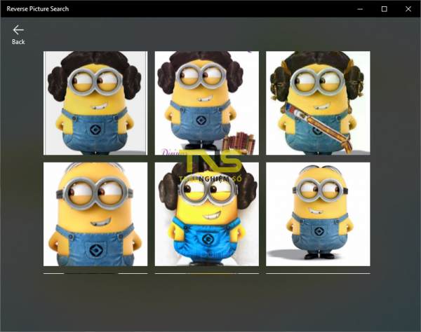 2019 11 20 16 48 59 600x474 - Reverse Picture Search: Ứng dụng UWP tìm kiếm ảnh tương đồng với Bing và lưu về