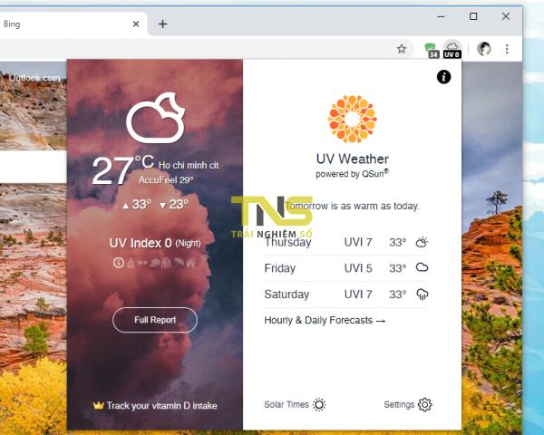 2019 11 20 17 51 46 600x480 - Theo dõi chỉ sổ ô nhiễm không khí từ thanh công cụ Chrome