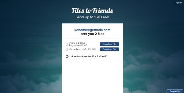 Chia sẻ 4 dịch vụ chia sẻ file dung lượng lớn có khả năng tự hủy 10