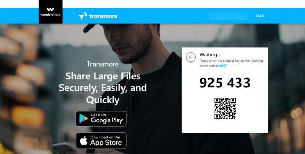 Transmore: Chia sẻ file cùng tài khoản và đa nền tảng miễn phí 9