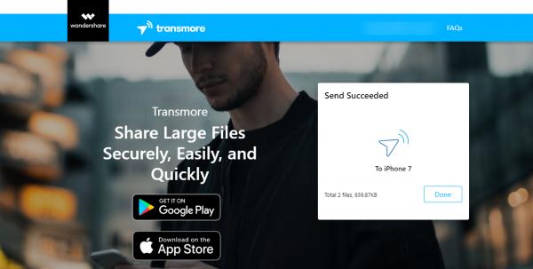 Transmore: Chia sẻ file cùng tài khoản và đa nền tảng miễn phí 10