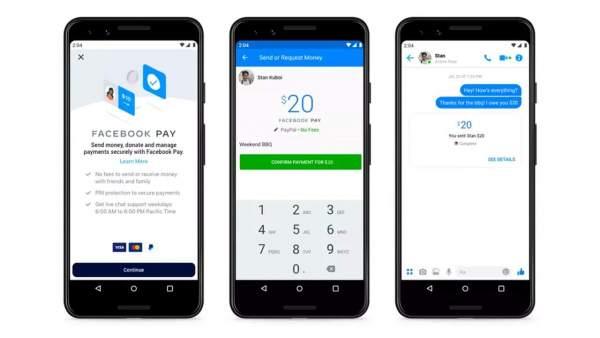 Facebook Pay la gi 600x338 - Facebook Pay cho phép thanh toán trên Messenger, WhatsApp và Instagram