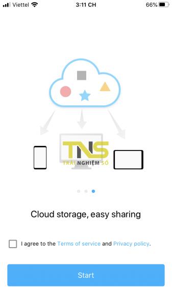 Transmore: Chia sẻ file cùng tài khoản và đa nền tảng miễn phí 1