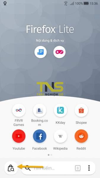 Screenshot 20191108 153621 338x600 - Dùng Firefox Lite tìm và so sánh giá sản phẩm trên Shopee, Lazada, Tiki,...
