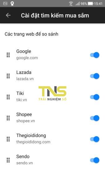 Screenshot 20191108 154109 338x600 - Dùng Firefox Lite tìm và so sánh giá sản phẩm trên Shopee, Lazada, Tiki,...