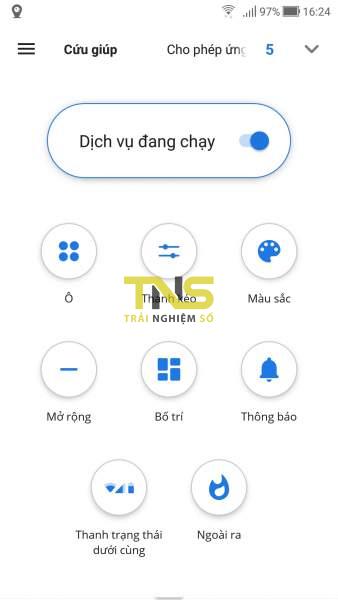Mở Quick Settings trên Android từ cạnh dưới và hai bên màn hình 2