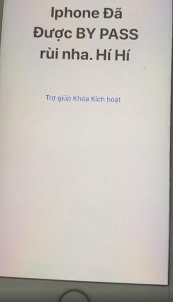 bypass iphone 1 - Đã bypass thành công iCloud và iPhone Lock, lên được mạng Việt Nam
