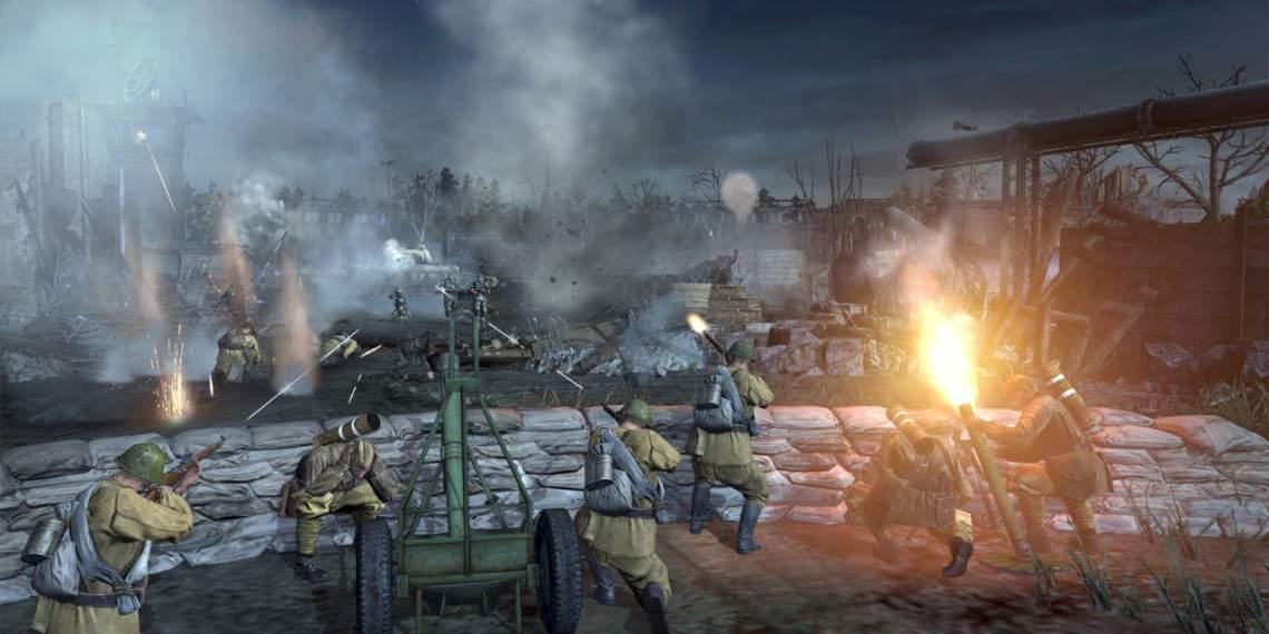 Đang miễn phí game Company of Heroes 2 trên Steam