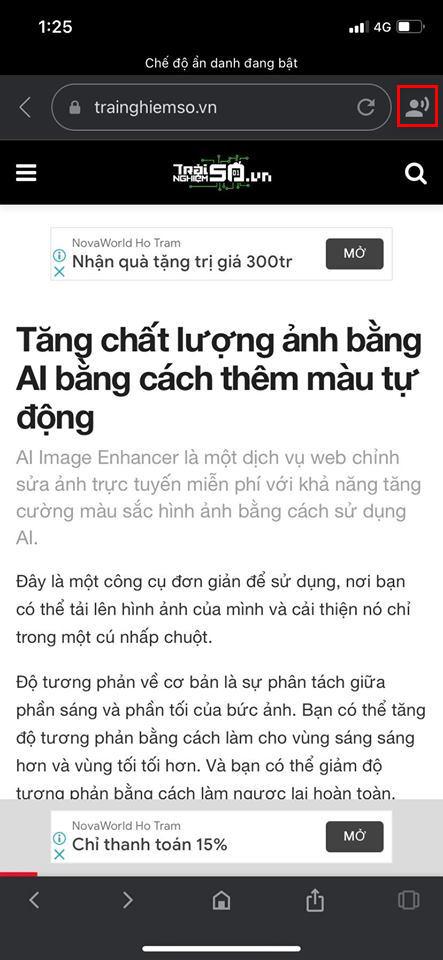 Đọc báo giùm bạn với tiếng Việt trên máy tính và điện thoại 2