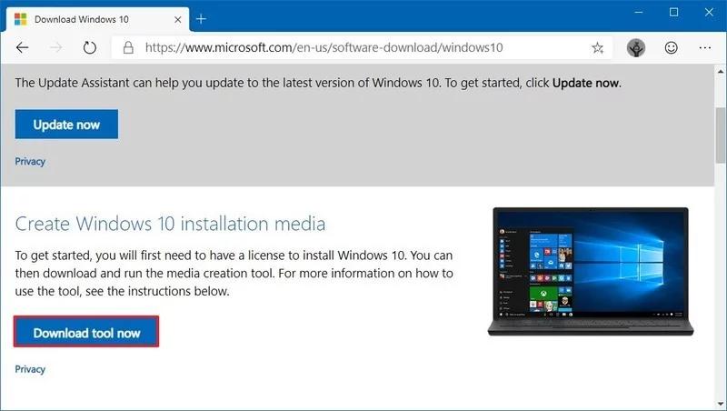 download 5 800x452 - Ba cách cập nhật máy tính lên Windows 10 build 1909