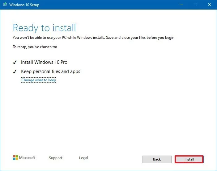 download 7 - Ba cách cập nhật máy tính lên Windows 10 build 1909