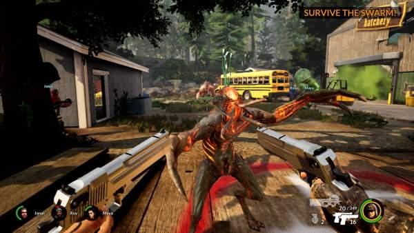 earthfall alien horde switch screenshot 1 600x338 - Đánh giá game Earthfall: Alien Horde