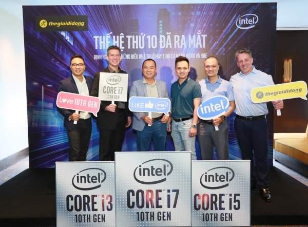 """image001 600x442 - Thế Giới Di Động """"bắt tay"""" Intel khuấy động thị trường laptop với Core i thế hệ 10"""