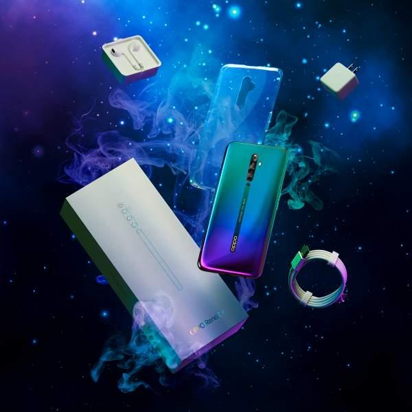 nebula 1 1x1 600x600 - Thế Giới Di Động bán độc quyền OPPO Reno2 F màu xanh tinh vân trong 1 tháng