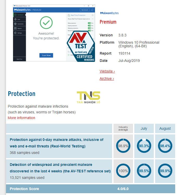phan mem diet virus malwarebytes - 8 phần mềm diệt virus tốt nhất 2019