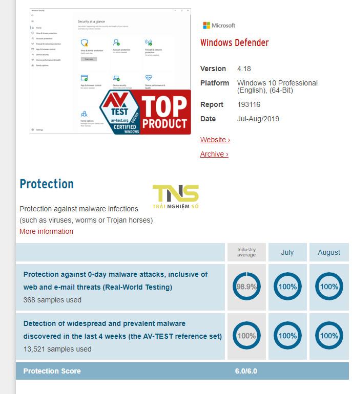 phan mem diet virus windows defender - 8 phần mềm diệt virus tốt nhất 2019