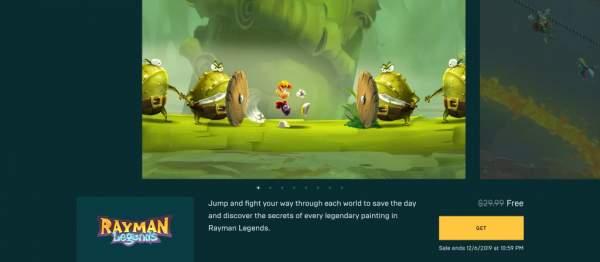 Tải miễn phí game đi cảnh Rayman Legends cực hay