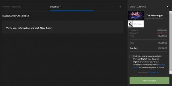 the messenger free epic games store 2 600x302 - Đang miễn phí game đi cảnh màn hình ngang The Messenger cực hay