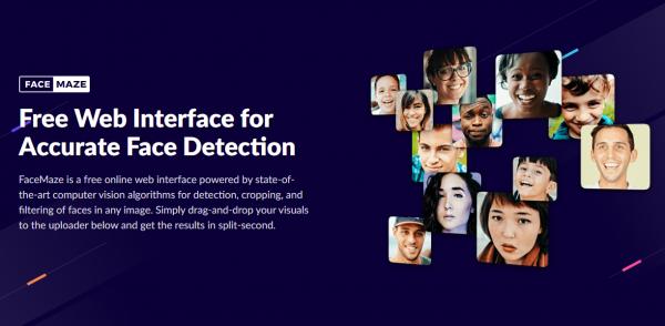 FaceMaze: Nhận diện, trích xuất tất cả khuôn mặt trong ảnh 1