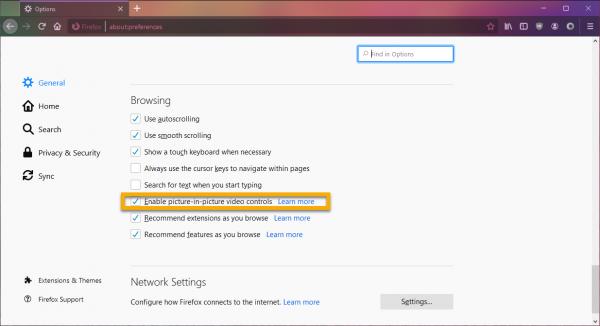 Cách kích hoạt chế độ PiP (xem video trong cửa sổ nổi) trên Firefox 1